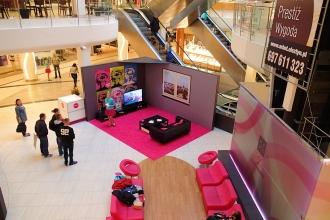 mała architektura w centrach handlowych