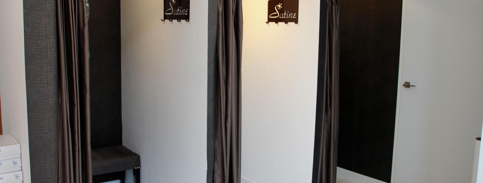 Sklep z bielizną - panele sklepowe