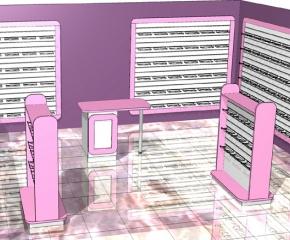 Wyposażenie sklepu obuwniczego o pow. 40 m2