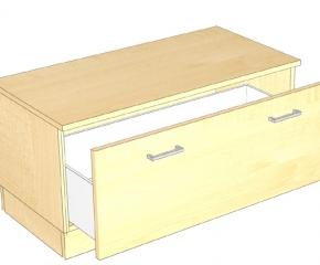 Komoda z szufladą