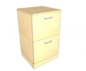 Komoda z dwiema szufladami