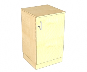 Komoda z szafką