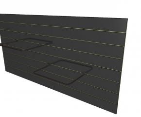 panel czarny 120x244