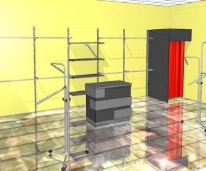 Sklep odzieżowy o pow.30 m2
