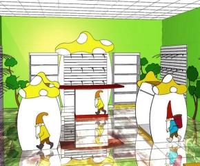 sklep z ubrankami dziecięcymi o pow. 40 m2