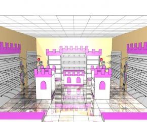 sklep z ubrankami dziecięcymi o pow.40 m2